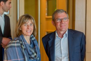 Christine Robin (Arkea Banque E&I) et Didier Ferre? (fondateur BAA et PDG groupe Ferre? Ho?tels)