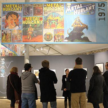 Exposition du magasine Métal Hurlant de Jean-Pierre Dionnet, FHEL