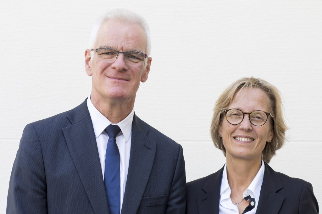 Jean-Lin Bergé et Valérie Geiger